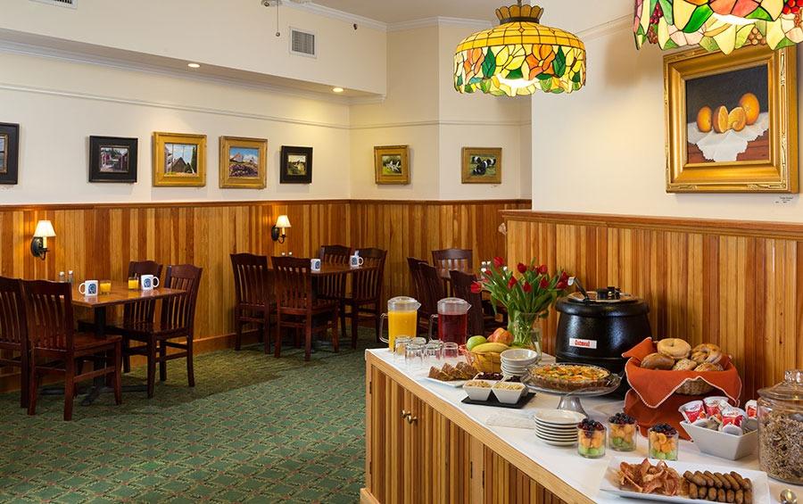 Breakfast, Free, Camden Maine, Buffet