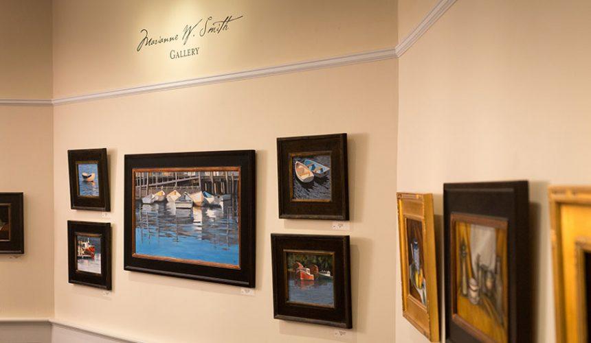 Marianne W. Smith Gallery, Lord Camden Inn, Camden Maine, Maine