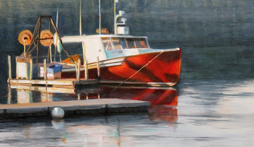 Marianne W. Smith Gallery, Lord Camden Inn, Camden Maine, Maine, nautical, boat
