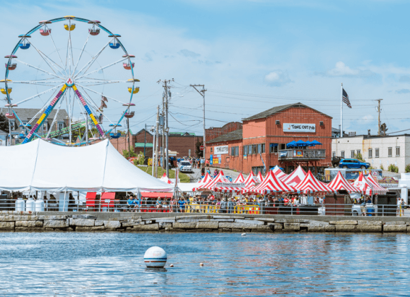 maine lobster festival, rockland maine, maine, seafood, family fun, carnival. music