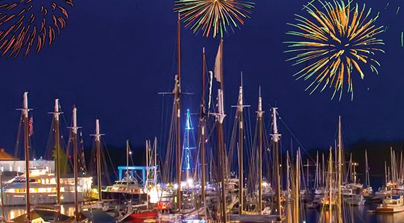 4th of july, festival of independence, fireworks, camden maine, maine, vacationland