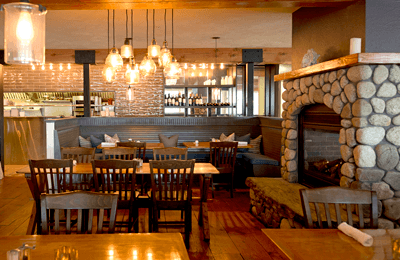 Peter Ott's Restaurant, Camden Maine