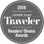 Conde Nast Traveler Reader Choice Award
