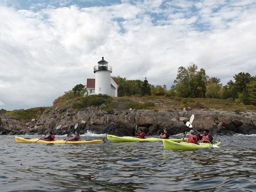 Camden Harbor Sea Kayak Tour